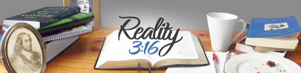 Reality 3:16 Logo